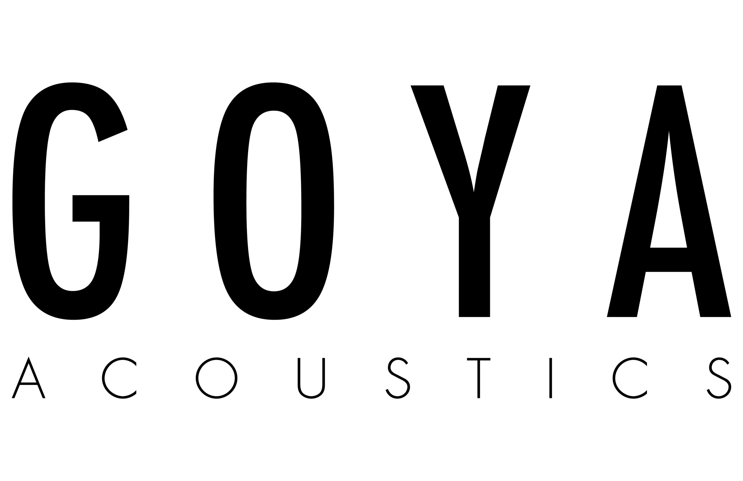 Goya Acoustics Logo Black